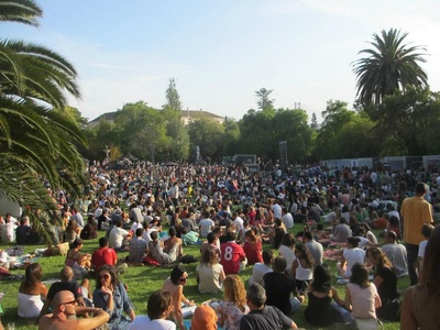 Festival OutJazz, parque Necessidades lisbon, Lisbon Light Walking Tours, Privat Walking, Pictures